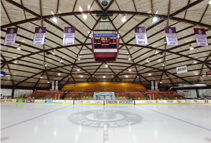 Cha Union College Frank L Messa Rink At Achilles Center